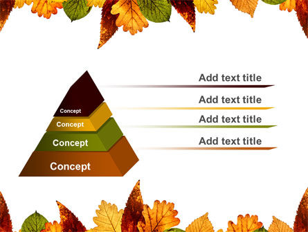 Autumn Leaves in Light Brown Palette PowerPoint Template Slide 4