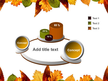 Autumn Leaves in Light Brown Palette PowerPoint Template Slide 6