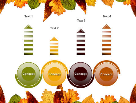 Autumn Leaves in Light Brown Palette PowerPoint Template Slide 7