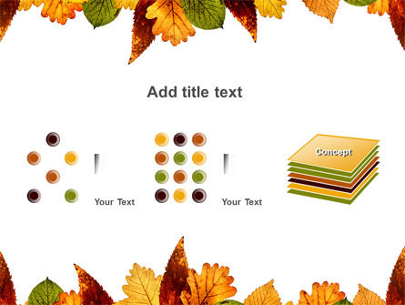 Autumn Leaves in Light Brown Palette PowerPoint Template Slide 9