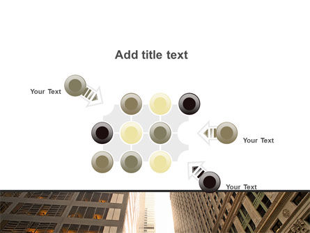 Downtown Skyscrapers PowerPoint Template Slide 10