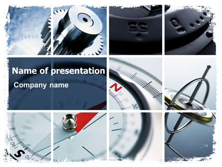 Business Concepts: Navigation Instruments PowerPoint Template #06497