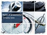 Business Concepts: Templat PowerPoint Instrumen Navigasi #06497