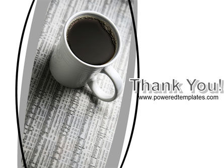 Morning Coffee Cup PowerPoint Template Slide 20