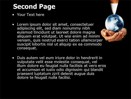 World Business Style PowerPoint Template Slide 2
