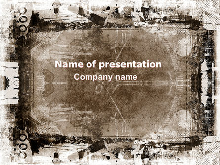 Grunge Abstract PowerPoint Template