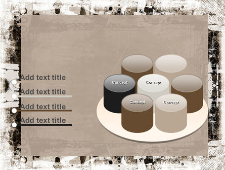 Grunge Abstract PowerPoint Template Slide 12