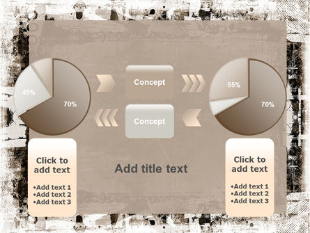Grunge Abstract PowerPoint Template Slide 16
