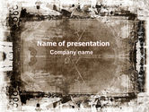 Abstract/Textures: Grunge Abstract PowerPoint Template #06501