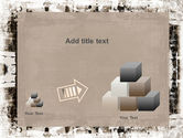 Grunge Abstract PowerPoint Template#13