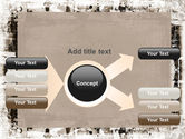 Grunge Abstract PowerPoint Template#15