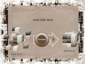 Grunge Abstract PowerPoint Template#17