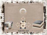 Grunge Abstract PowerPoint Template#19