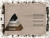 Grunge Abstract PowerPoint Template#4