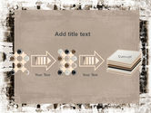 Grunge Abstract PowerPoint Template#9