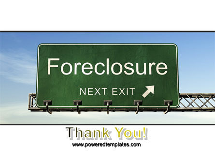 Foreclosure PowerPoint Template Slide 20