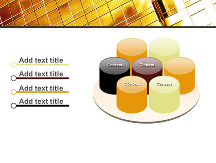 Yellow Skyscraper PowerPoint Template Slide 12