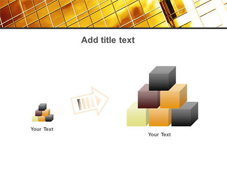 Yellow Skyscraper PowerPoint Template Slide 13
