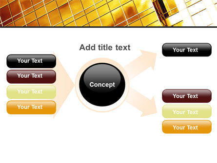 Yellow Skyscraper PowerPoint Template Slide 15