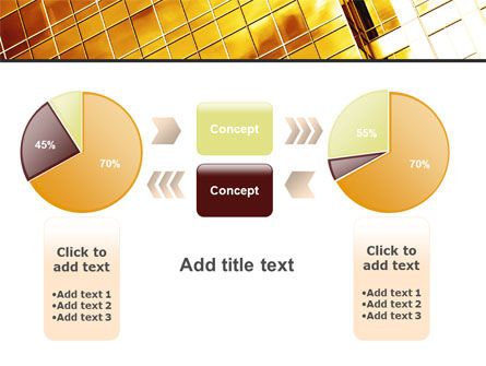 Yellow Skyscraper PowerPoint Template Slide 16