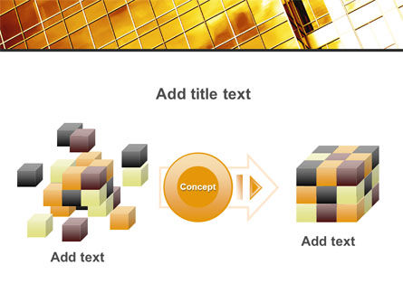 Yellow Skyscraper PowerPoint Template Slide 17
