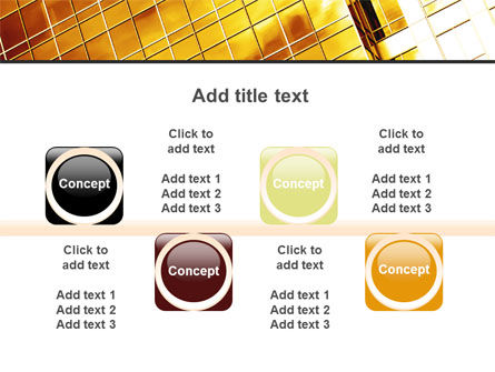 Yellow Skyscraper PowerPoint Template Slide 18