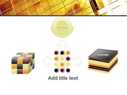 Yellow Skyscraper PowerPoint Template Slide 19