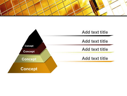 Yellow Skyscraper PowerPoint Template Slide 4