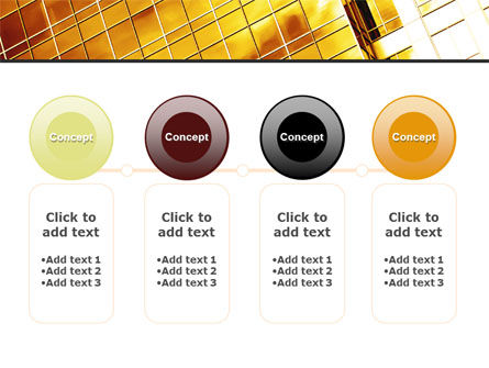 Yellow Skyscraper PowerPoint Template Slide 5