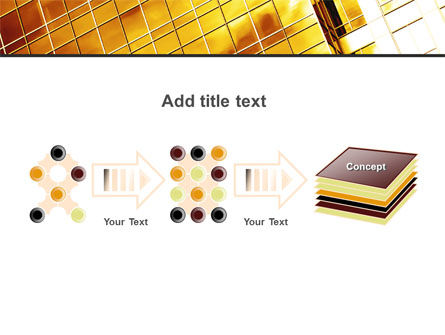 Yellow Skyscraper PowerPoint Template Slide 9