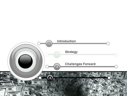 Money Black Hole PowerPoint Template, Slide 3, 06504, Financial/Accounting — PoweredTemplate.com