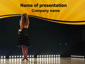 Art & Entertainment: Talent Show PowerPoint Template #06505