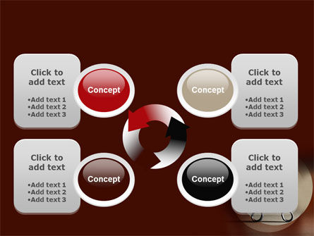Ribbon And Scissors PowerPoint Template Slide 9