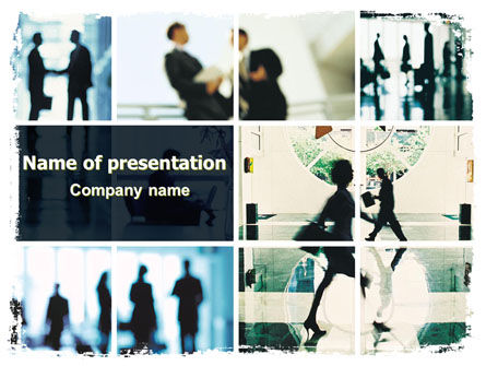 Business Personal Contacts PowerPoint Template, 06507, Business — PoweredTemplate.com