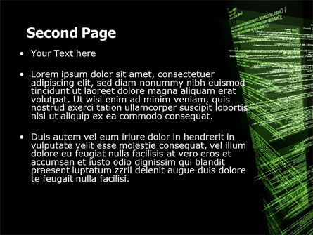 Programming Code PowerPoint Template, Slide 2, 06508, Technology and Science — PoweredTemplate.com