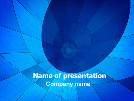 Fractal PowerPoint Template, 06510, Abstract/Textures — PoweredTemplate.com