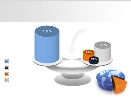 3D Diagram PowerPoint Template Slide 10