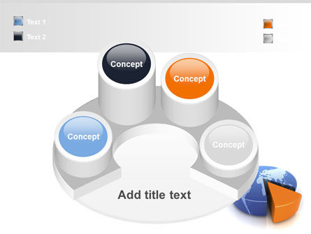 3D Diagram PowerPoint Template Slide 12