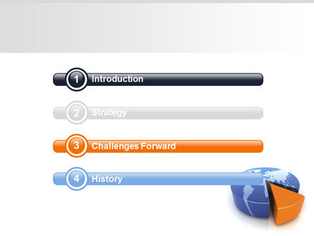 3D Diagram PowerPoint Template Slide 3
