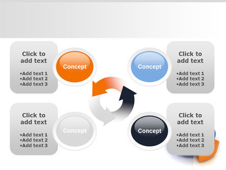 3D Diagram PowerPoint Template Slide 9