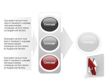 Rising Arrow PowerPoint Template Slide 11