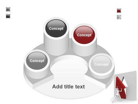 Rising Arrow PowerPoint Template Slide 12