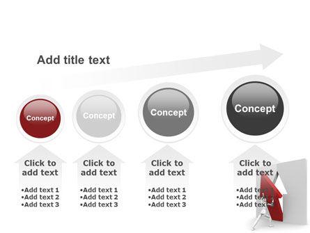 Rising Arrow PowerPoint Template Slide 13