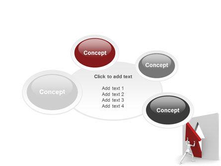 Rising Arrow PowerPoint Template Slide 16