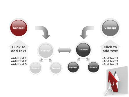 Rising Arrow PowerPoint Template Slide 19