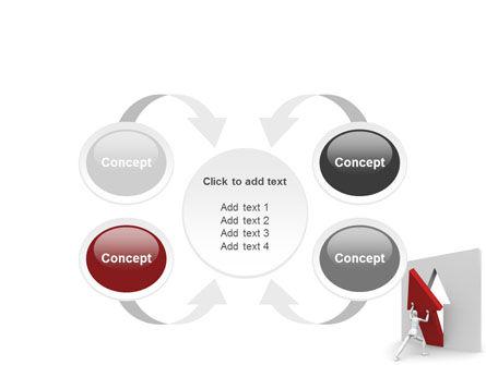 Rising Arrow PowerPoint Template Slide 6