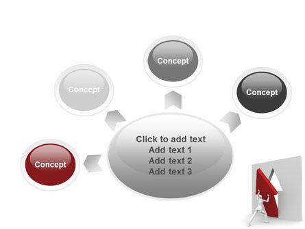 Rising Arrow PowerPoint Template Slide 7