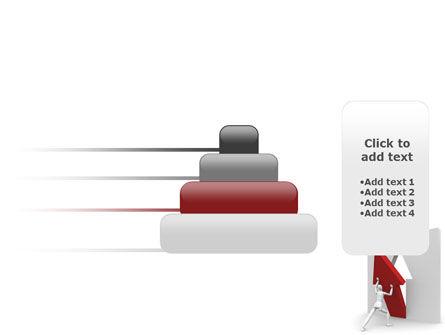 Rising Arrow PowerPoint Template Slide 8