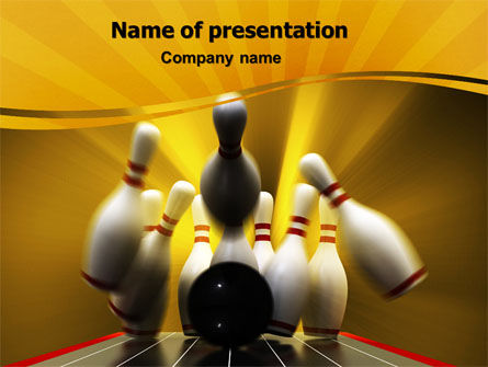 Business Concepts: Fallen Skittles PowerPoint Template #06514
