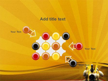 Fallen Skittles PowerPoint Template Slide 10